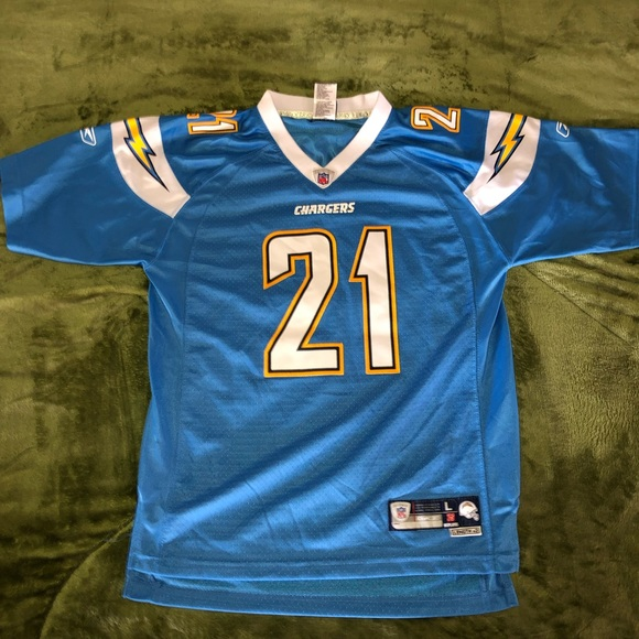 new product 93048 85421 LaDainian Tomlinson Powder Blue Jersey Youth L